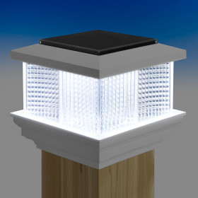 Galaxy Solar Post Cap Light by LMT Mercer Group - Lit