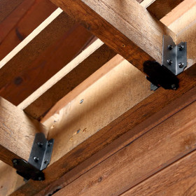Laredo Sunset 6-8 Inch Joist Hanger by OZCO Ornamental Wood Ties