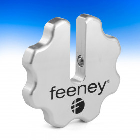 The Quick-Connect Wrench Wheel by Feeney eliminates the need for extra helpers and tools.
