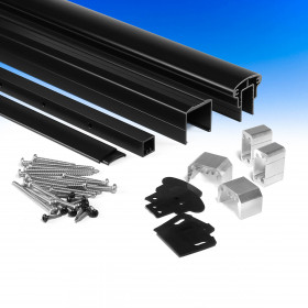 DesignRail Aluminum Level Rail Kits by Feeney include