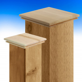 Tucson Thin Flat Top Post Cap by Acorn Deck Products