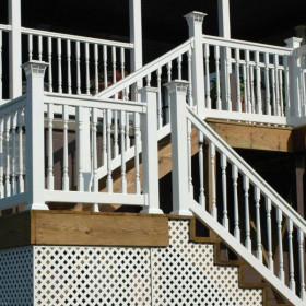 The Ashington Vinyl Stair Rail by Durables
