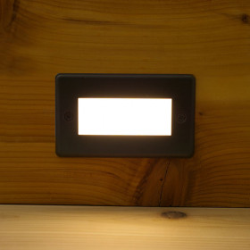 Corona Recessed LED Riser Light by Aurora Deck Lighting