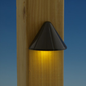 Vega LED Rail Light by Aurora Deck Lighting