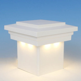Cape May Downward Low Voltage LED Post Cap Light by LMT Mercer