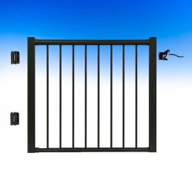 48 Inch Aluminum Gate by Century Aluminum Railings