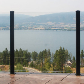 Scenic Posts by Century Aluminum Railings