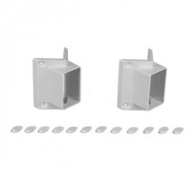 Standard 45 Degree Classic Bracket Set by Durables - Set of 2