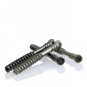 Choose from the ProTech coated steel or grade 316 stainless steel versions of the CAMO Drive Collated Edge Deck Screw.