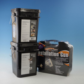 Buy (2) CONCEALoc Buckets, get the Tiger Claw Installation Gun FREE!
