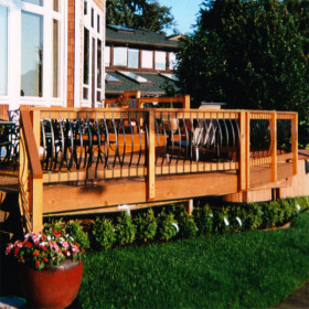 Arc Architectural Balusters by Deckorators