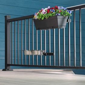 Give depth to your deck design by adding Adjustable Bracket Bundle by Hold It Mate in various heights along your space.