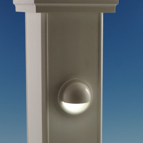Low Voltage LED Dome Side Light by LMT Mercer - White
