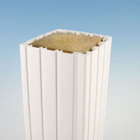 Fluted Vinyl Column Wrap by Durables