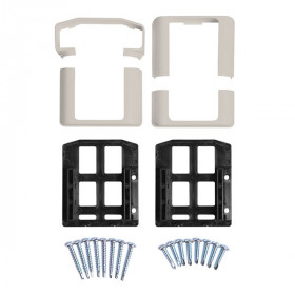 T-Rail Bracket Kits by Durables - Level (Tan)