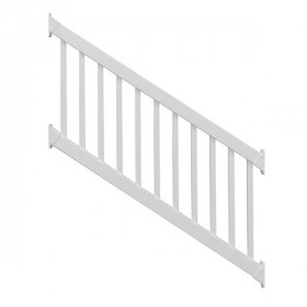 The Waltham Classic Vinyl Stair Rail Kit by Durables