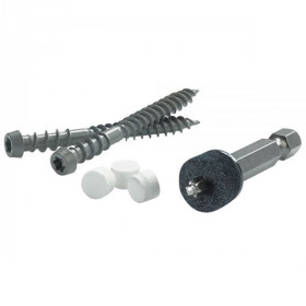 Cortex Concealed Fastening System for Azek Trim - Screws, plugs & setting tool