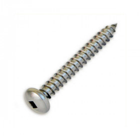 Stainless Steel Button Head Lag Screws help attach Feeney Surface Mount Fittings to wooden deck posts for a solid hold.