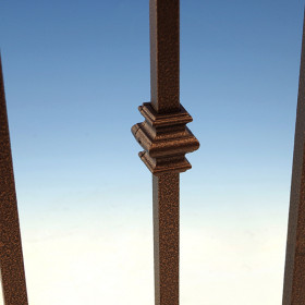 FE26 Knuckle Accessory for Square Fortress Balusters