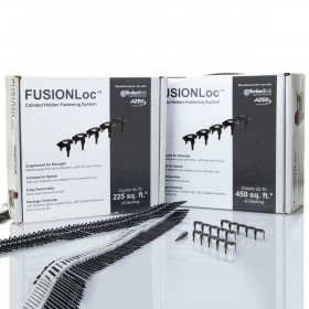 FUSIONLoc Hidden Fasteners offered in 2 quantity options