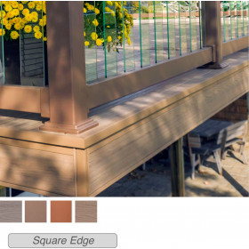 Genovations Fascia Boards are a stunning choice for concealing your deck substructure and perfecting your deck layout.
