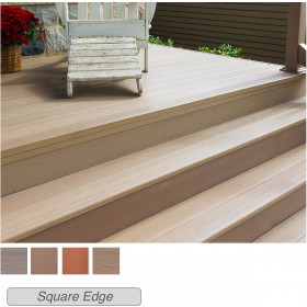 Create a complete outdoor stairway with the gorgeous final looks of Genovations Riser Deck Boards.