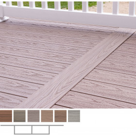 Genovations Transition Boards allow you to create a unique deck board layout that sets your deck apart from the rest.