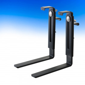Adjustable Brackets from Hold It Mate can accommodate plant holders between 6-1/2 to 9 inches tall.