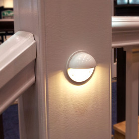 Mini Nebula Eyeball LED Rail Light by Aurora Deck Lighting