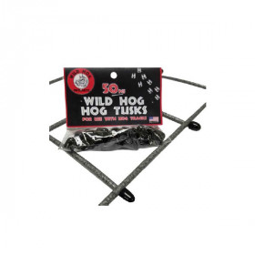 Hog Tusks by Wild Hog Railing