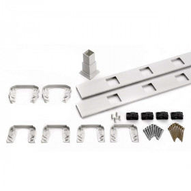 Transcend Accessory Infill Kit - Square - Level Rail (Classic White)