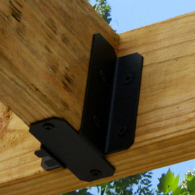 Ironwood Joist Hangers by OZCO - Tab Style Typical Installation