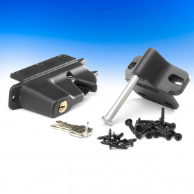 Keystone Lockable Latch by Nationwide Industries - Black