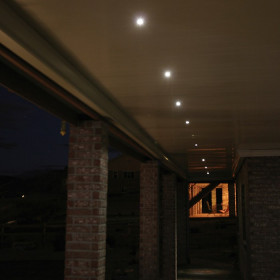 Illuminate without overpowering using Recessed LED Down Lights by Dekor.