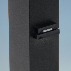 Ornamental Low Voltage LED Side Light by LMT Mercer - Black