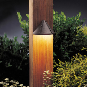 Kichler Mini Deck Light-Textured Architectural Bronze