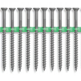 Collated Stainless Steel Deck Screws by HEADCOTE