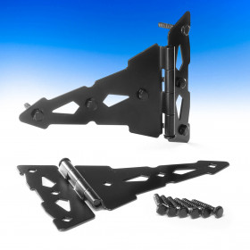 T Hinge by Nationwide Industries - Black