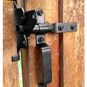 Standard Latch Kit Gate Hardware by OZCO - Typical Installation