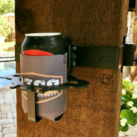 Phone/Beer Holder Hanger Accent by OZCO Ornamental Wood Ties