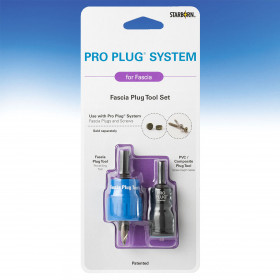 Pro Plug System for PVC and Composite Fascia Tool by Starborn