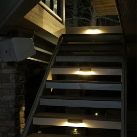 Radiance LED Multi-Purpose Light used as stair lights