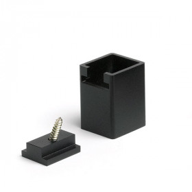 Signature Aluminum Foot block by Trex - Charcoal Black
