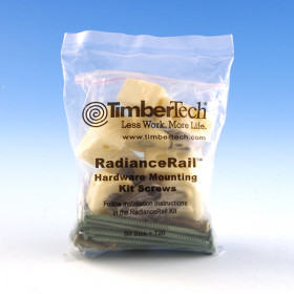 RadianceRail Hardware Mounting Kit by TimberTech