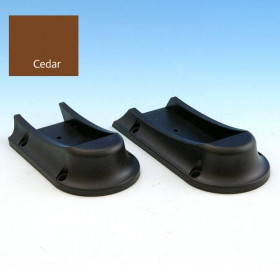 Universal Rail Connector - Stair - Cedar