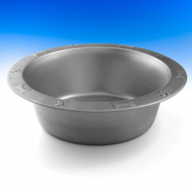 Crafted from stainless steel, the Dog Bowl by Hold It Mate is an elegant and modern looking feature to add to your space.