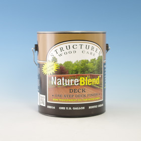 NatureBlend One-Step Deck Finish - Sold in 1 Gallon Cans