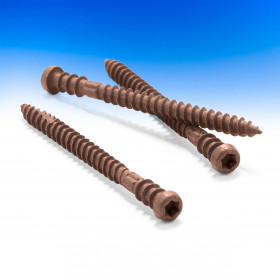 TOPLoc Face Fastening System for TimberTech Decking - Rosewood - 350 Pack