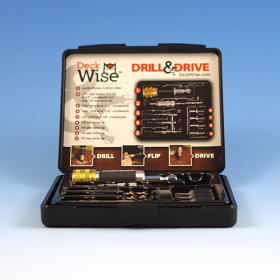 Pre-Drilling, Countersinking and Driver Tool by DeckWise