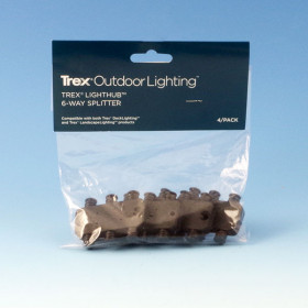 6-Way Splitter by Trex Deck Lighting - 4 pack